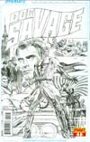Doc Savage Vol 5 #1 Cover D Incentive Alex Ross Black & White Cover
