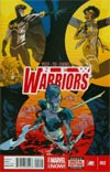 New Warriors Vol 5 #2 Cover A Regular Ramon Perez Cover