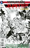 Justice League Vol 2 #26 Cover E Incentive Ivan Reis Sketch Cover (Forever Evil Tie-In)