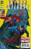 Batman Superman #10 Cover B Combo Pack With Polybag (First Contact Epilogue)