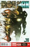 Iron Man Vol 5 #24 Cover A Regular Mike Del Mundo Cover