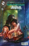 Grimm Fairy Tales Presents Wonderland Asylum #4 Cover C Chris Ehnot