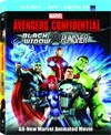 Avengers Confidential Black Widow & Punisher Blu-ray Combo DVD
