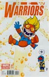 New Warriors Vol 5 #1 Cover C Variant Skottie Young Baby Cover