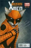 Wolverine And The X-Men Vol 2 #1 Cover B Variant Jenny Parks Animal Cover