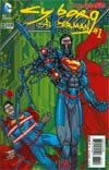 Action Comics Vol 2 #23.1 Cyborg Superman Cover C 2nd Ptg 3D Motion Cover