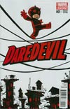 Daredevil Vol 4 #1 Cover C Variant Skottie Young Baby Cover