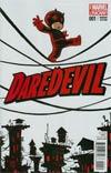 Daredevil Vol 4 #1 Cover C Variant Skottie Young Baby Cover