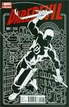 Daredevil Vol 4 #1 Cover D Incentive Paolo Rivera Variant Cover