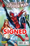 Amazing Spider-Man Vol 3 #1 Cover X Midtown Exclusive J Scott Campbell Connecting Color Variant Cover Signed By Dan Slott (Limit 1 Per Customer)