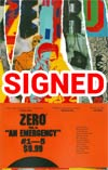Zero Vol 1 An Emergency TP Signed By Ales Kot