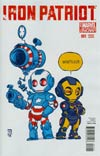 Iron Patriot #1 Cover B Variant Skottie Young Baby Cover