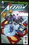 Action Comics Vol 2 #32 Cover A Regular Aaron Kuder Cover (Superman Doomed Tie-In)