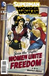 Superman Wonder Woman #9 Cover B Variant DC Bombshells Cover (Superman Doomed Tie-In)