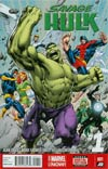 Savage Hulk #1 Cover A Regular Alan Davis Cover