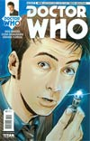 Doctor Who 10th Doctor #1 Cover B Variant Elena Casagrande Subscription Cover