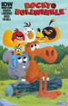 Rocky & Bullwinkle #4 Cover B Variant Matt Kaufenberg Angry Birds Subscription Cover