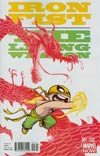 Iron Fist Living Weapon #1 Cover C Variant Skottie Young Baby Cover