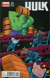 Hulk Vol 3 #1 Cover C Variant Chris Samnee Animal Cover