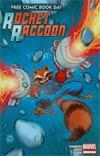 FCBD 2014 Rocket Raccoon