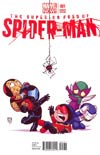 Superior Foes Of Spider-Man #1 Cover B Variant Skottie Young Baby Cover