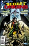 Secret Origins Vol 4 #1 Cover B Incentive Andy Kubert Variant Cover