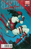 Elektra Vol 3 #1 Cover D Incentive Paolo Rivera Variant Cover