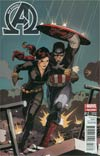 New Avengers Vol 3 #17 Cover B Incentive Captain America Team-Up Variant Cover