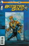 Booster Gold Futures End #1 Cover A 3D Motion Cover