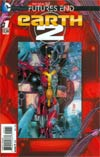 Earth 2 Futures End #1 Cover A 3D Motion Cover