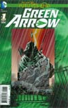 Green Arrow Futures End #1 Cover A 3D Motion Cover