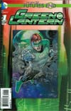 Green Lantern Futures End #1 Cover A 3D Motion Cover