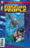Infinity Man And The Forever People Futures End #1 Cover A 3D Motion Cover