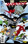 Justice League Vol 2 #33 Cover B Variant Darwyn Cooke Batman 75th Anniversary Cover