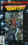 Justice League United Futures End #1 Cover A 3D Motion Cover
