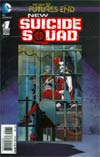 New Suicide Squad Futures End #1 Cover A 3D Motion Cover