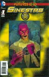 Sinestro Futures End #1 Cover A 3D Motion Cover