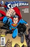 Superman Vol 4 #33 Cover B Variant Erik Larsen Batman 75th Anniversary Cover