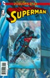 Superman Futures End #1 Cover A 3D Motion Cover