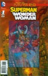 Superman Wonder Woman Futures End #1 Cover A 3D Motion Cover
