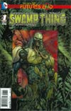 Swamp Thing Futures End #1 Cover A 3D Motion Cover