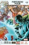 Fantastic Four Vol 5 #7 Cover A Regular Leonard Kirk Cover (Original Sin Tie-In)