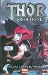Thor God Of Thunder Vol 4 Last Days Of Midgard HC