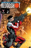 Armor Hunters Bloodshot #2 Cover C Shared Exclusive Connecting Armor Hunters Variant Cover (10 Of 18)