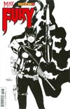 Miss Fury Vol 2 #10 Cover F Incentive Billy Tan Black & White Cover
