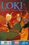 Loki Agent Of Asgard #3 Cover C 2nd Ptg Jenny Frison Variant Cover