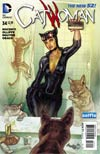 Catwoman Vol 4 #34 Cover B Variant DC Universe Selfie Cover
