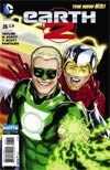 Earth 2 #26 Cover B Variant DC Universe Selfie Cover