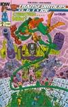 Transformers vs GI Joe #2 Cover A Regular Tom Scioli Cover