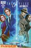 X-Files Year Zero #2 Cover A Regular Carlos Valenzuela Cover